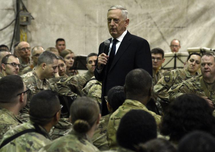 Le SECDEF Mattis en Afghanistan : vers une réconciliation politique entre les Taliban et le gouvernement afghan ?