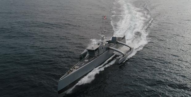 L'US Navy réceptionne son premier navire entièrement autonome