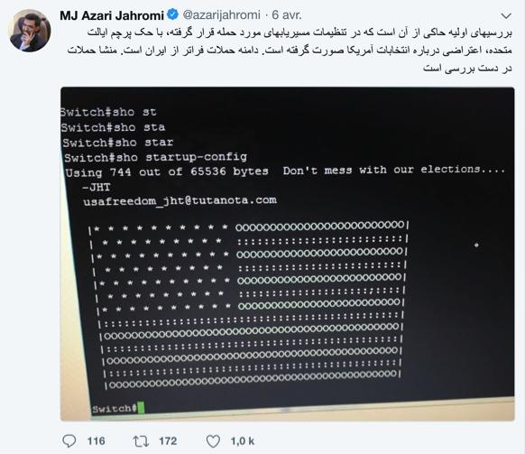 l'Iran touché par un piratage mondial – aucun dommage