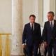 Le secrétaire général de l'Otan Jens Stoltenberg reçu à l'Elysée