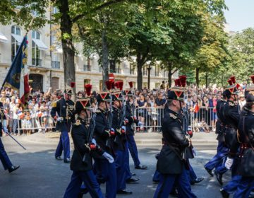 Nemrod-ECDS au défilé du 14 juillet 2018