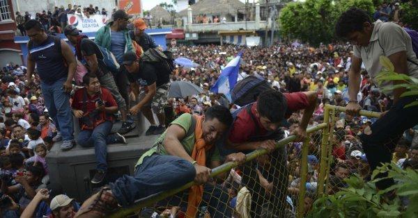 Amérique Centrale : la «Caravana» hondurienne en direction des Etats-Unis