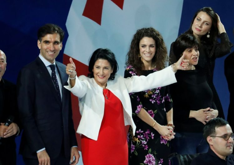 Géorgie – Salomé Zourabichvili : le rêve franco-géorgien