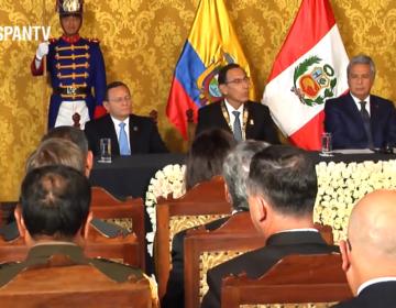 Equateur – anniversaire de l'Acte de Brasilia avec le Pérou