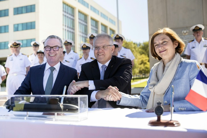 Retour sur la signature du «contrat du siècle» entre le Commonwealth australien et Naval Group pour un montant de 31 milliards d'euros