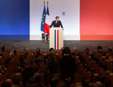 Discours d'Emmanuel Macron sur la stratégie française de défense et de dissuasion