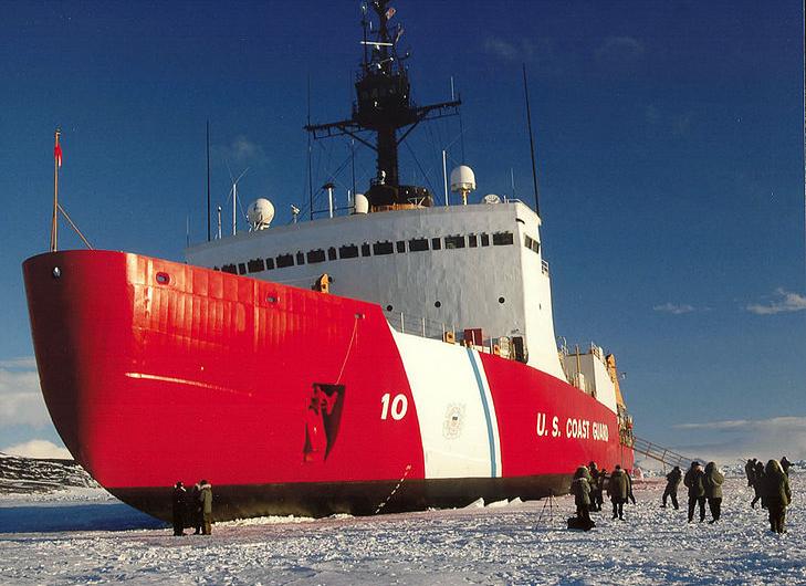 Retour des Etats-Unis en Arctique