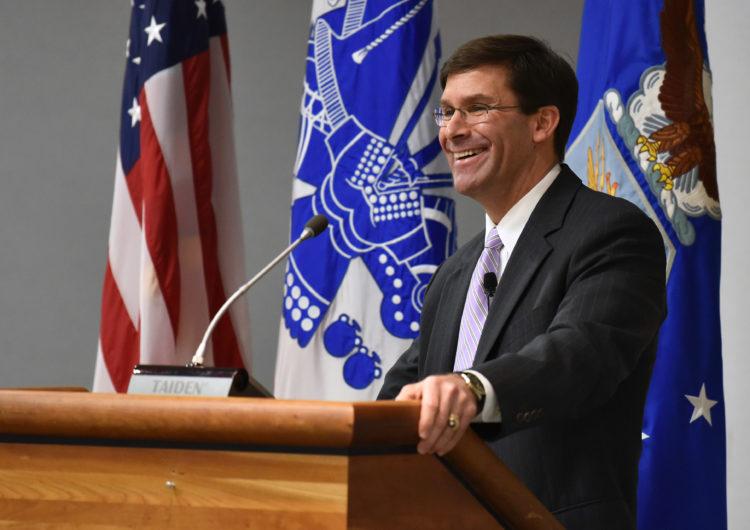 Etats-Unis – Démission du secrétaire d'Etat à la défense Mark Esper