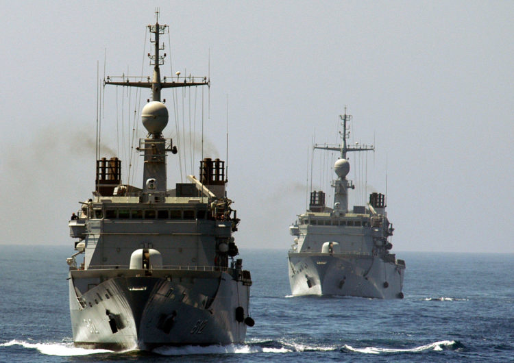 Les forces navales marocaines