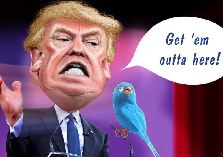 Le déséquilibre stratégique : Donald Trump et Twitter