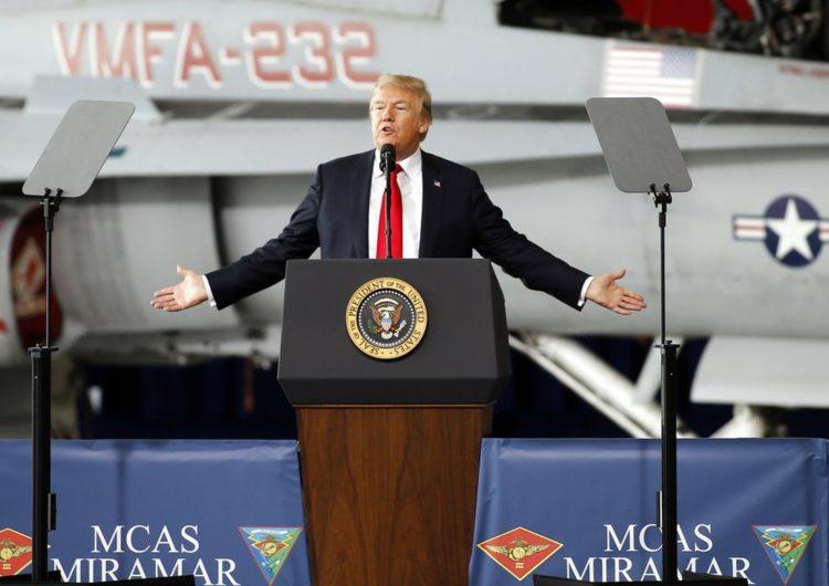 Le président Trump favorable à la création d'une force militaire spatiale