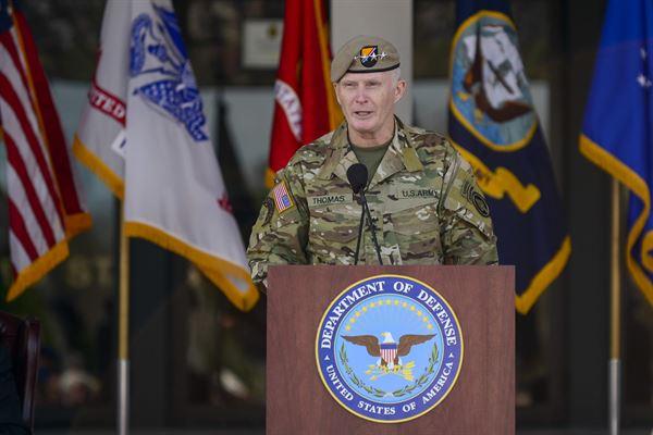 Général Raymond Thomas (SOCOM): la Syrie est «l'environnement de guerre électronique le plus agressif au monde»