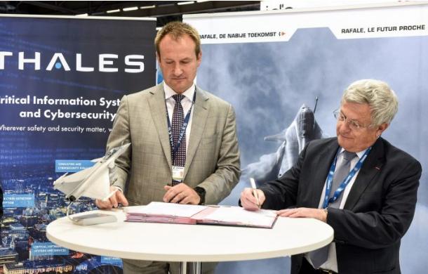 Alliance de Thales et Rafale International en Belgique