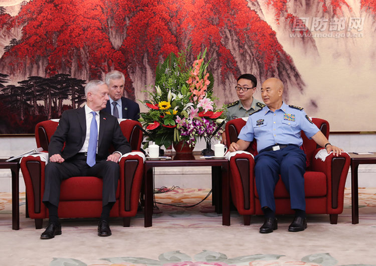 Retour sur la visite du SECDEF Mattis en Asie