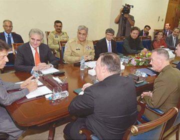 Les Etats-Unis accroissent la pression sur le Pakistan