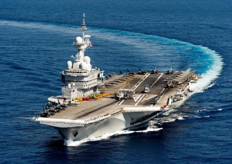 Lancement officiel des études sur le futur porte-avions français