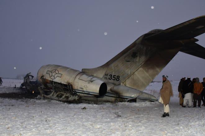 Afghanistan : crash d'un avion de soutien aux communications E-11 et réduction des livraisons d'aéronefs américains