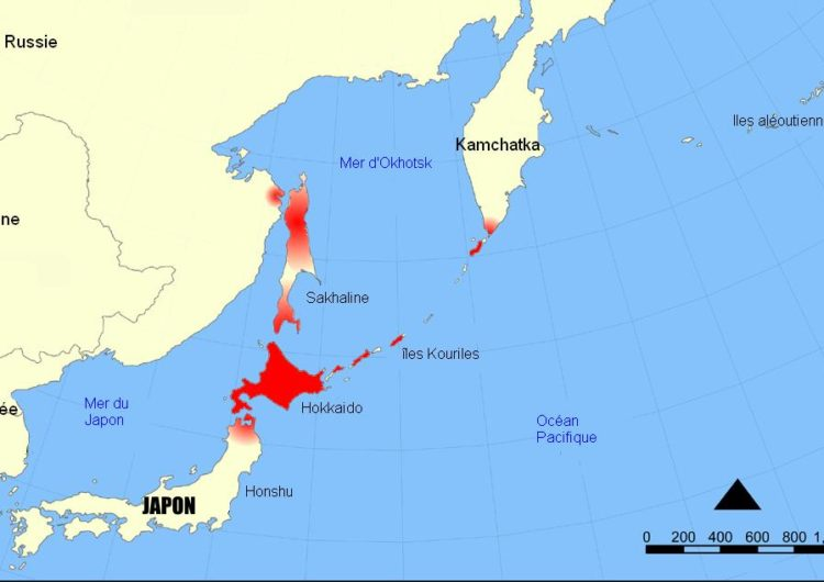 Russie – Japon : Tensions autour des îles Kouriles entre la Russie et le Japon
